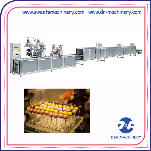 Deposited Lollipop Candy Production Line Lollipop Making Equipment