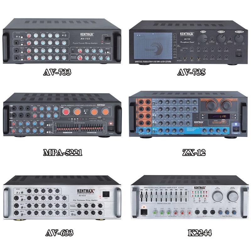 250 Watts Professional Digital Audio Karaoke Power Amplifier with DSP