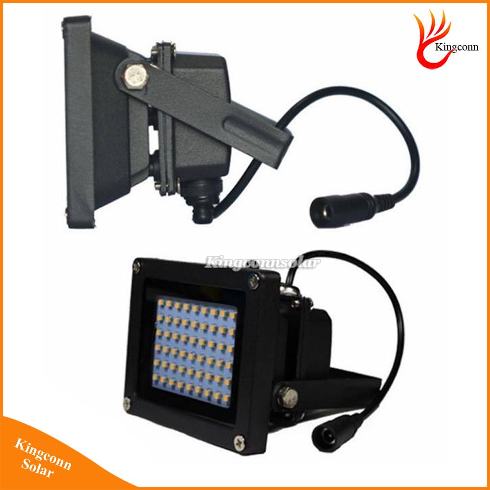 450 Lumen 54 LED Solar Powered Flood Light Outdoor Solar Garden Light