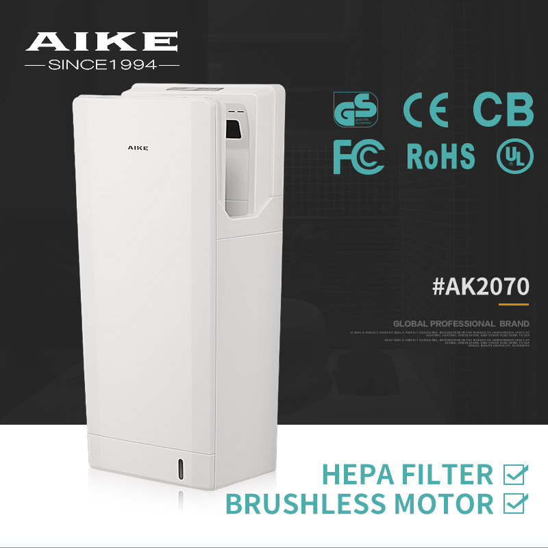 AIKE2070 Hotel Amenities Commercial Dryer Price Restroom Electric Hand Dryer