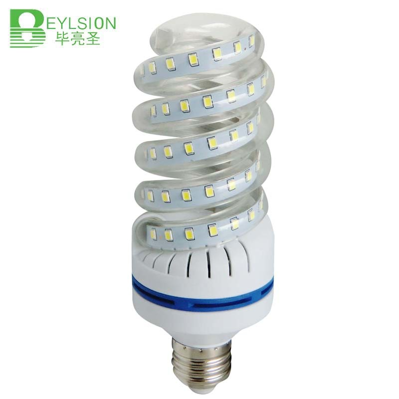 New Spiral LED Corn Bulb SMD2835 16W 360 Degree
