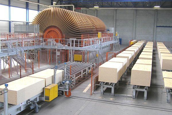 OSB (Oriented Strand Board) Factory
