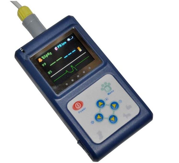 Vet Veterinary Pulse Oximeter Rpo-60V for Animal with Ce/ISO Certificate-Fanny