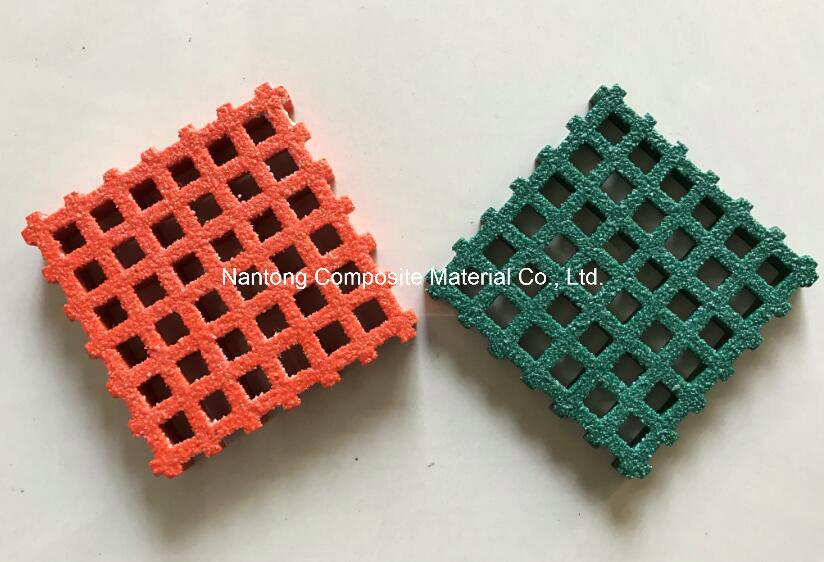 Fiberglass Grating Mini Mesh 40X40-20X20, Molded FRP/GRP Grating