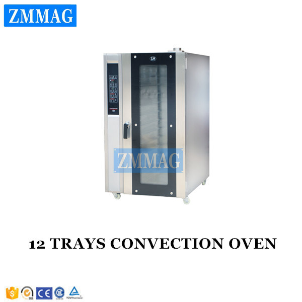 12 Trays Industrial Electric Convection Oven Steamer 110V for Sale (ZMR-12D)