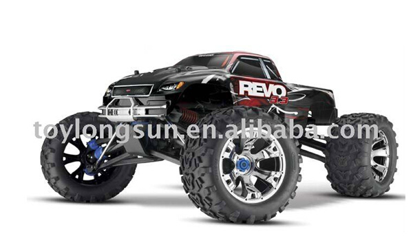 1/8th Scale RC Model Nitro off Road Monster Truck