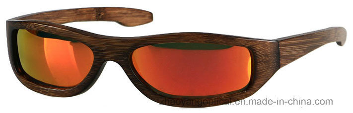 Fashion 2017 New Design Handmade Bamboo Sports Glasses