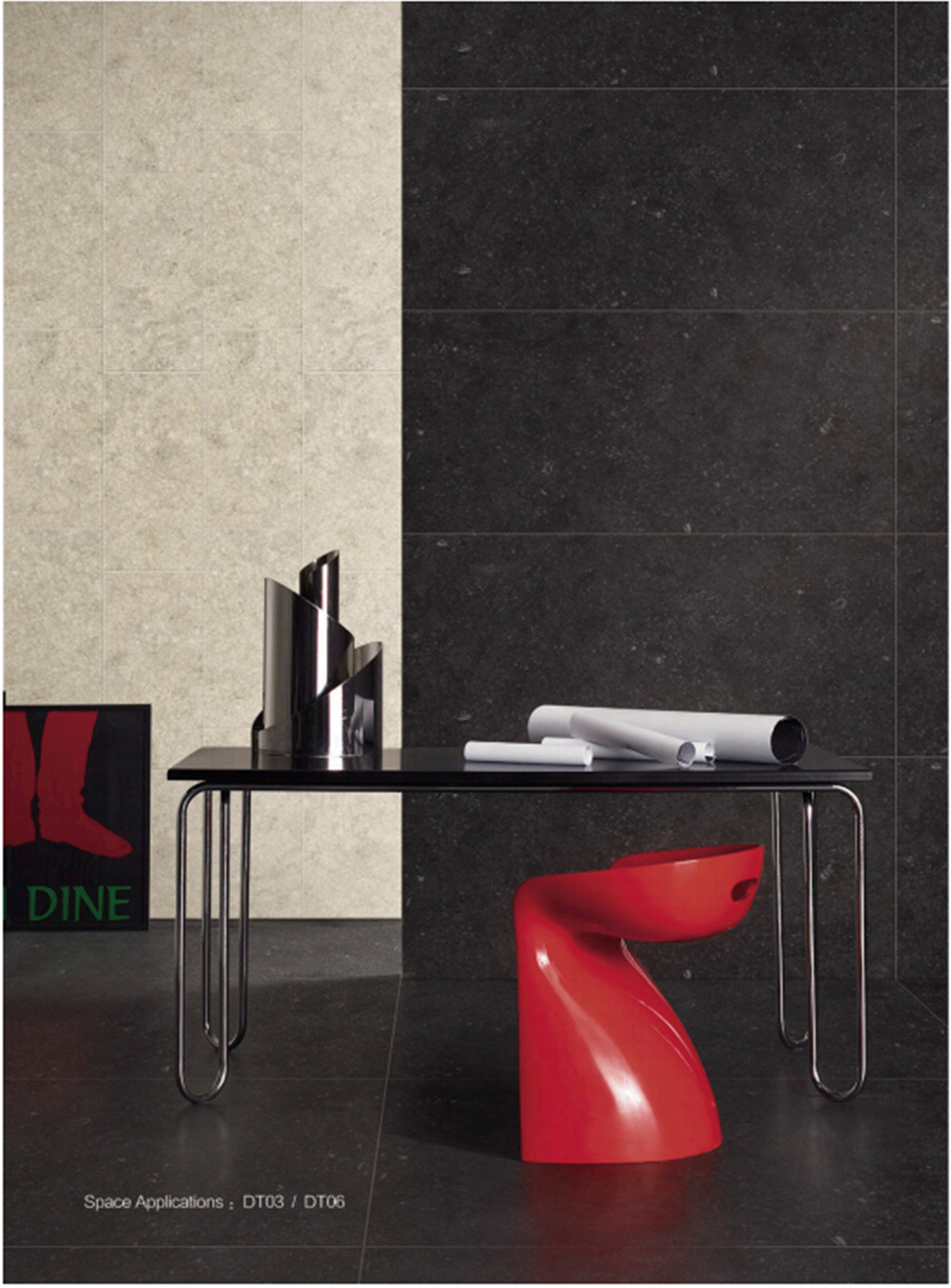Classic Bluestone Glazed Porcelain Tiles 600X600mm (DT03)
