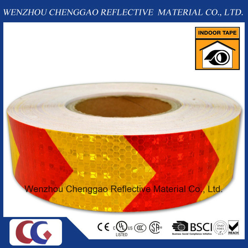 PVC Honeycomb Arrow Design Reflective Sticker Rolls 5cm (CG3500-AW)