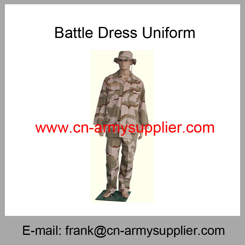 Desert Camouflage Bdu-Battle Dress Uniform-Military Apparel-Army Uniform