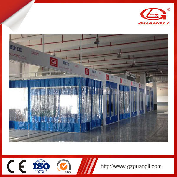 Professiona Reliable and Movable Preparation Room for Car Repair (GL400)
