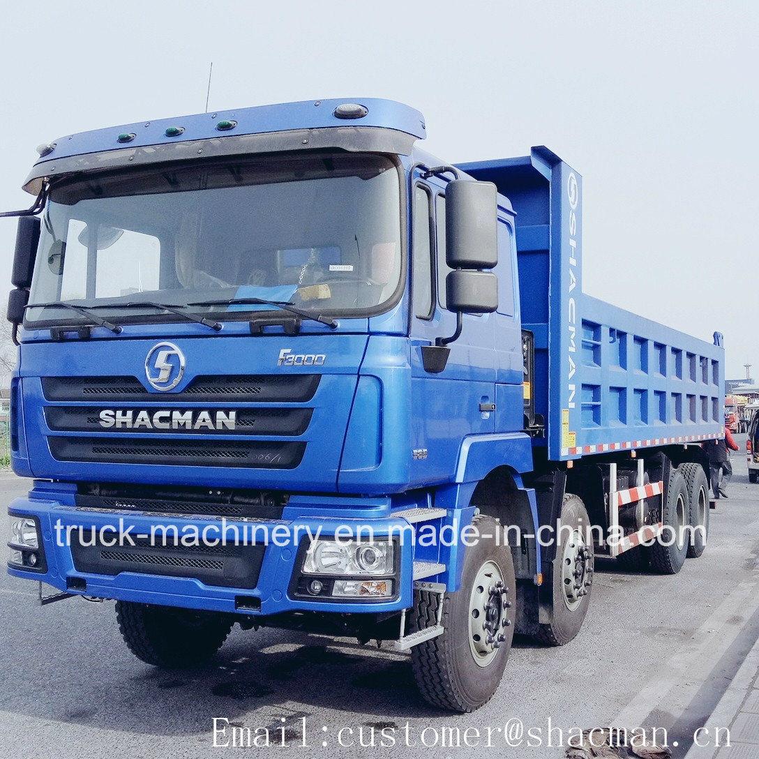 Shacman 8*4 F3000 Dump Truck Cummins Engine 385HP