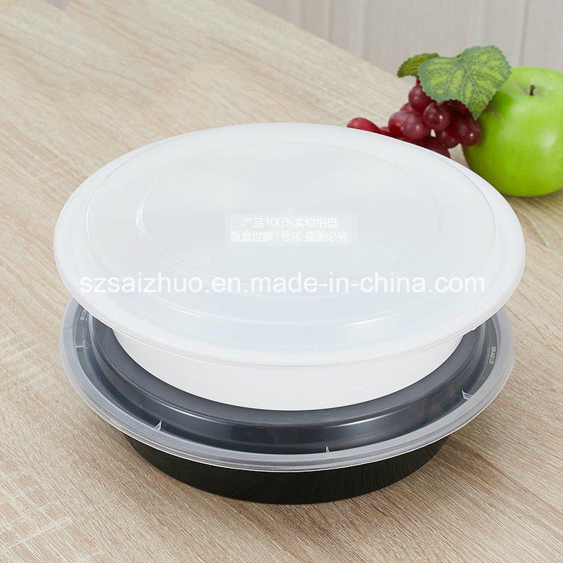 1200ml Round Disposable Plastic Food Bowl