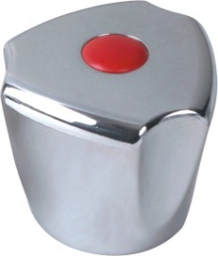 Faucet Handle in ABS Plastic With Chrome Finish (JY-3003)
