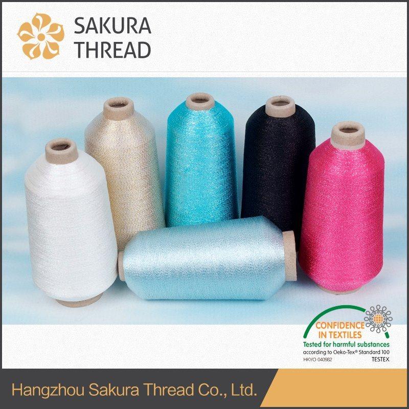 M/Mh Sakura Nylon Lurex Yarn for African Lace Fabrics