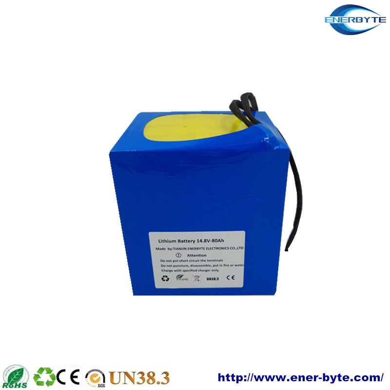Golf Car/ E-Wheelchair Rechargealbe LiFePO4 Battery Pack 14.8V 80ah