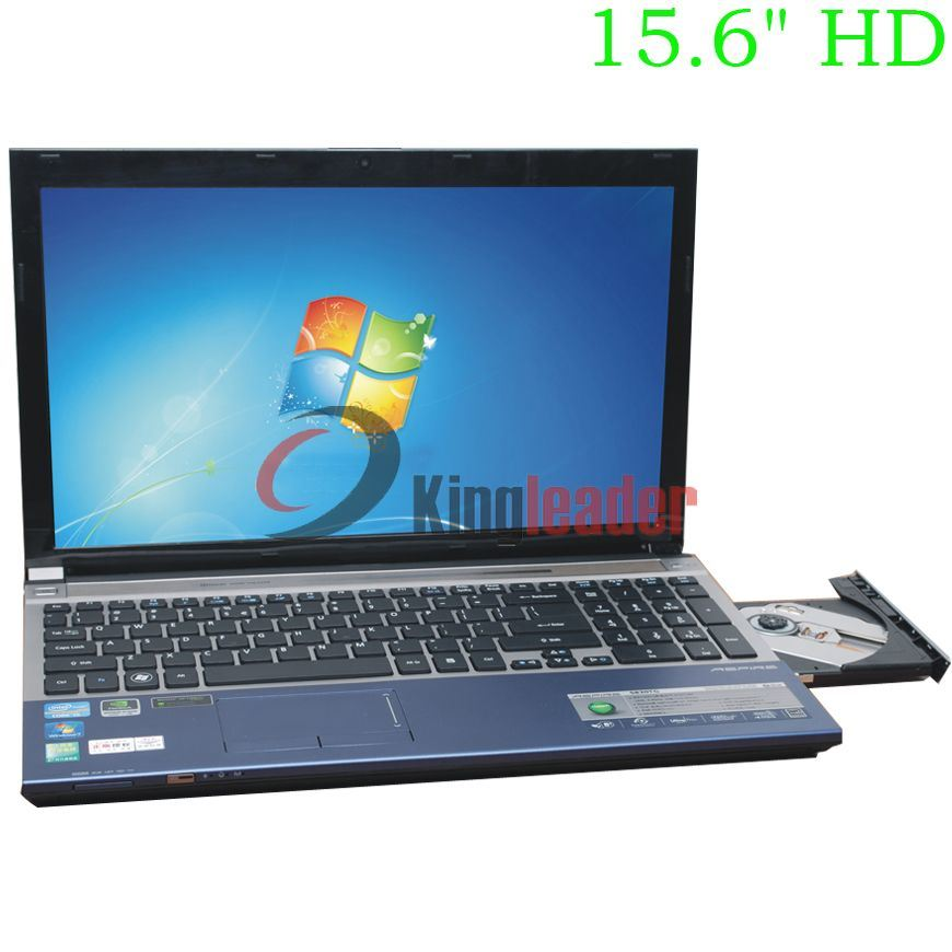 """15.6""""Inch HD Intel Core I7 Quad-Core 1.9GHz Notebook with DVD-RW (Q156I)"""