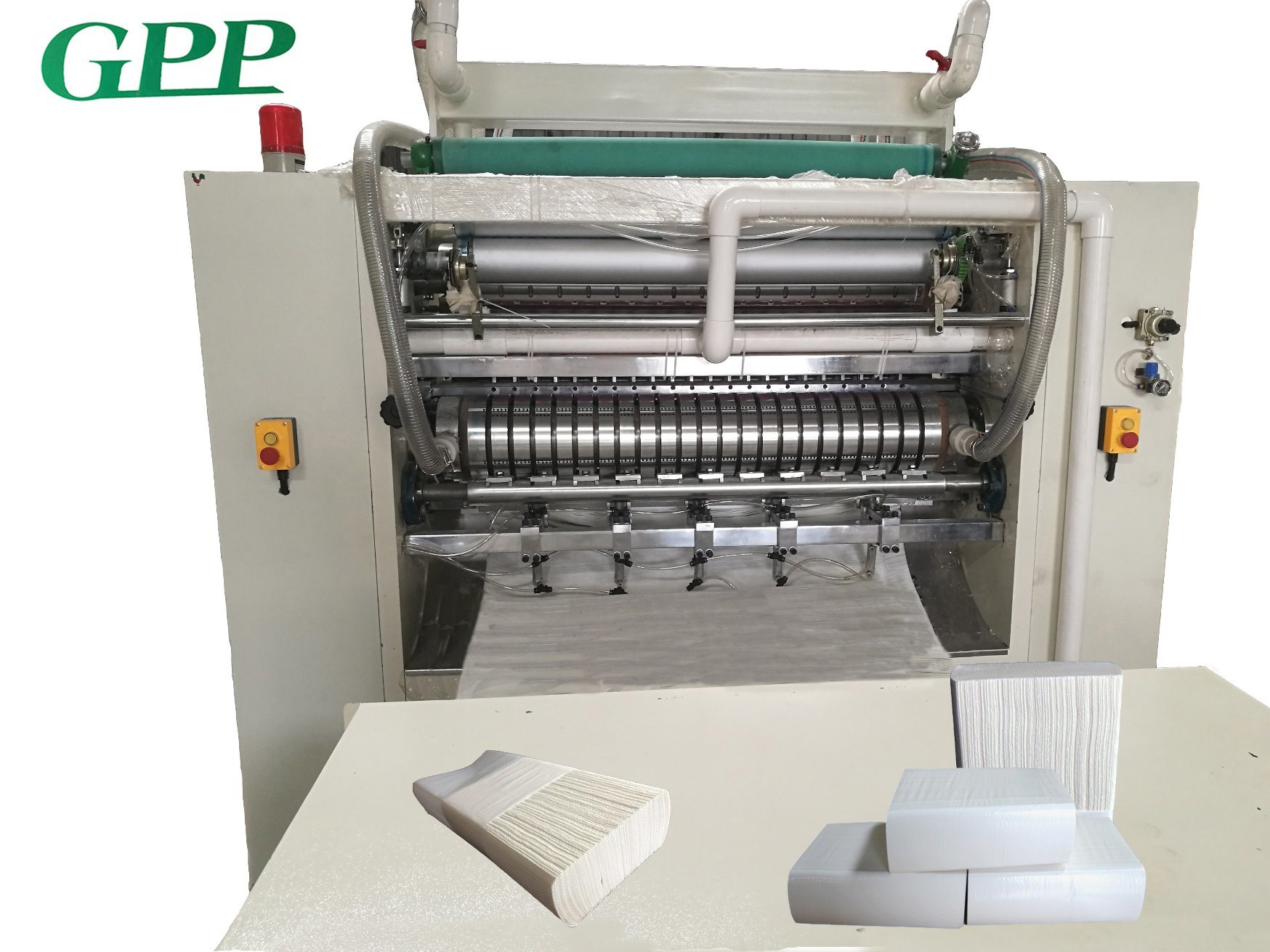 High Speed Glue Lamination Hand Towel Making Machine