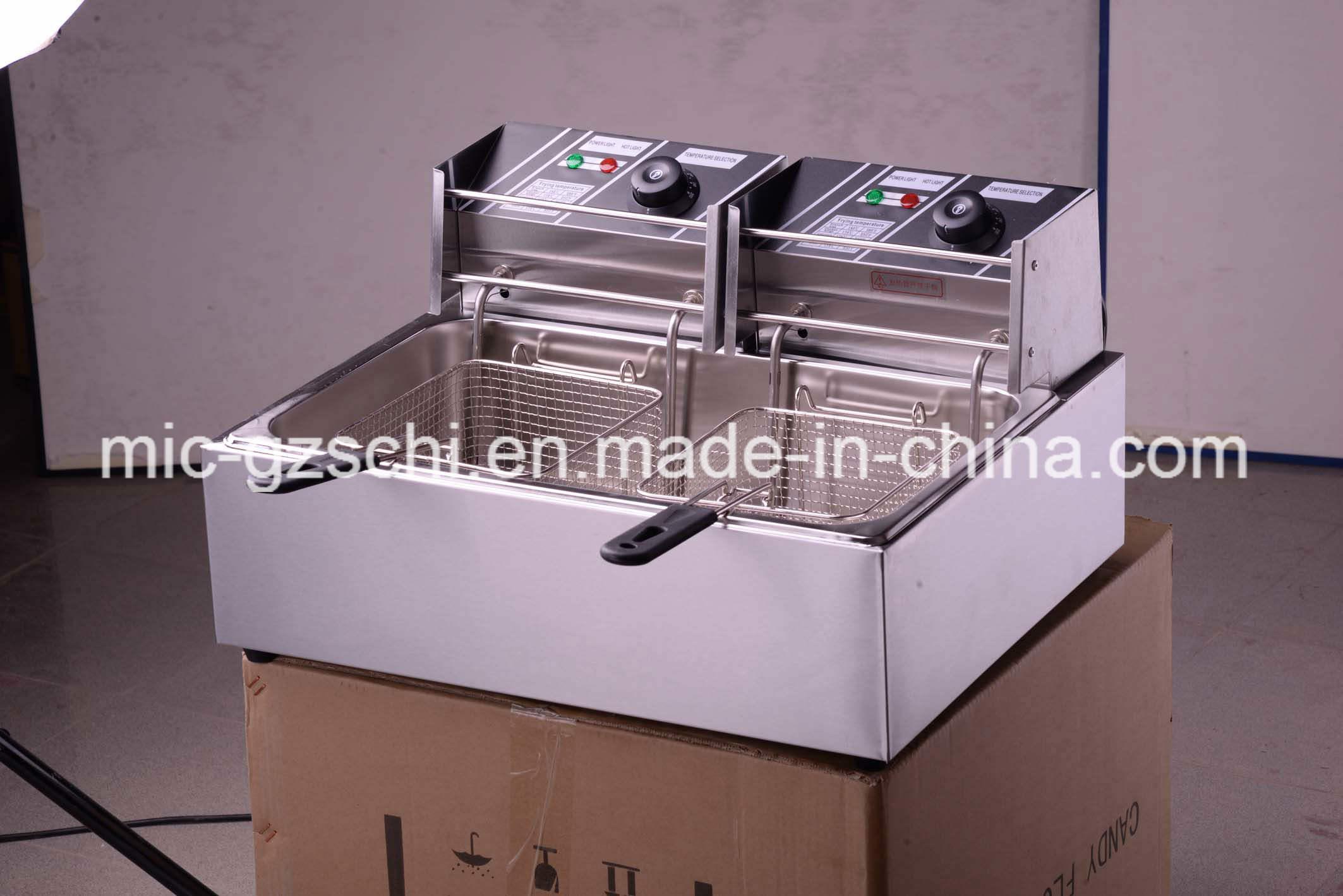 Stainless Steel Deep Fryer Chicken Deep Fryer Machine for Wholsale