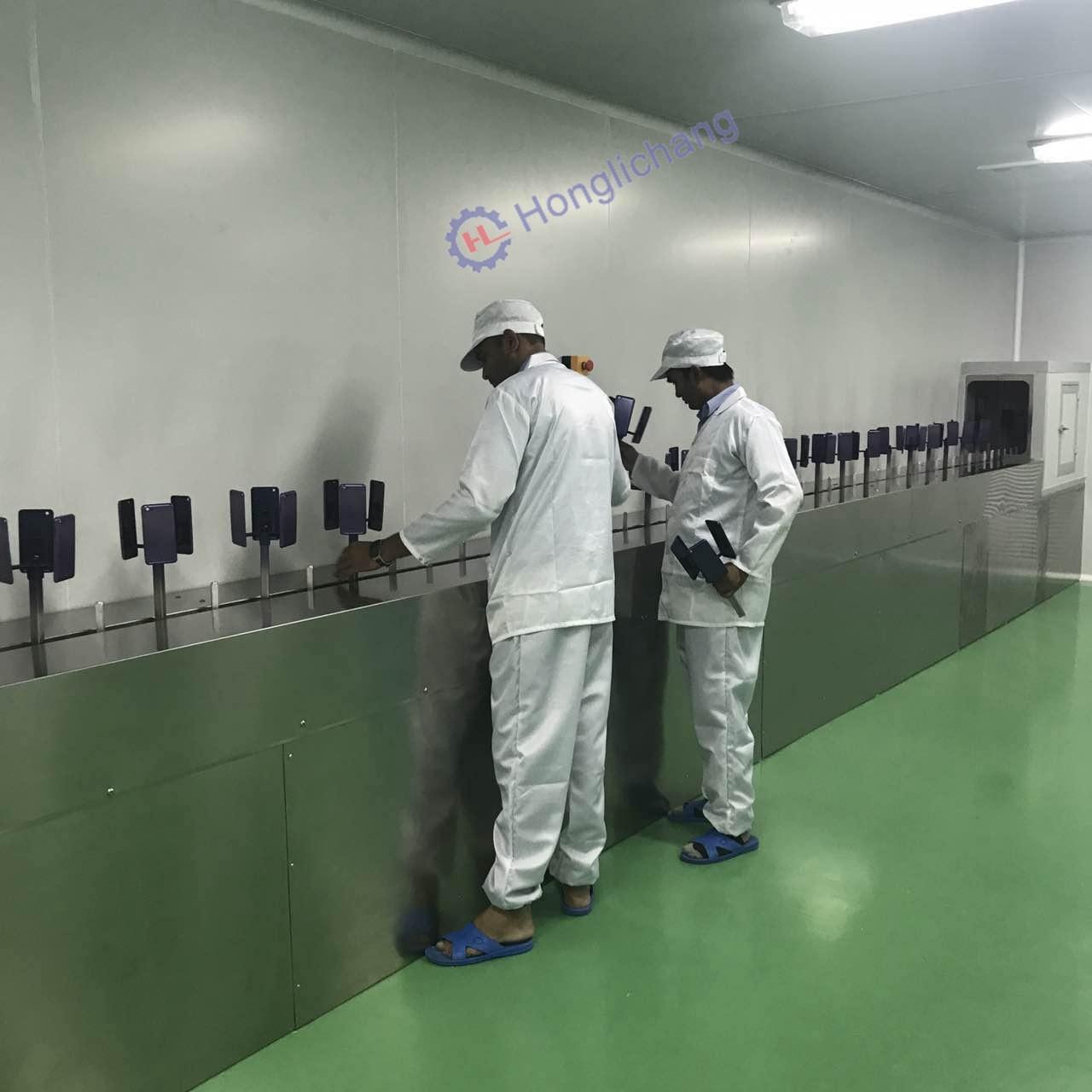 Automatic Vacuum Metallizing Machine for UV Spray Coating Line