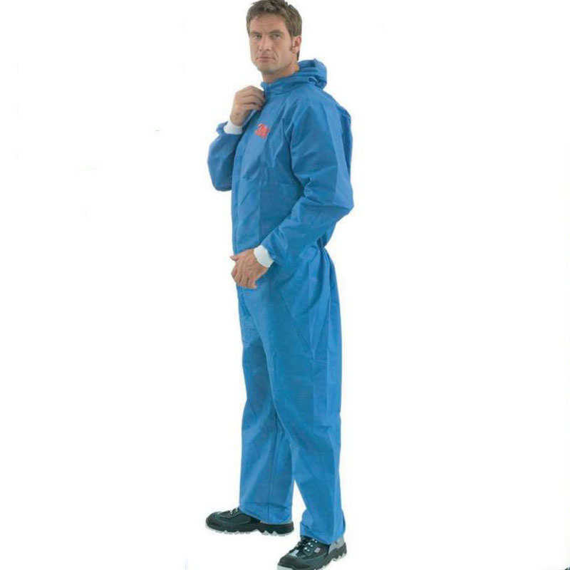 PP/PP+PE/SMS/Sf Non-Woven Disposable Protective Microporous Coverall