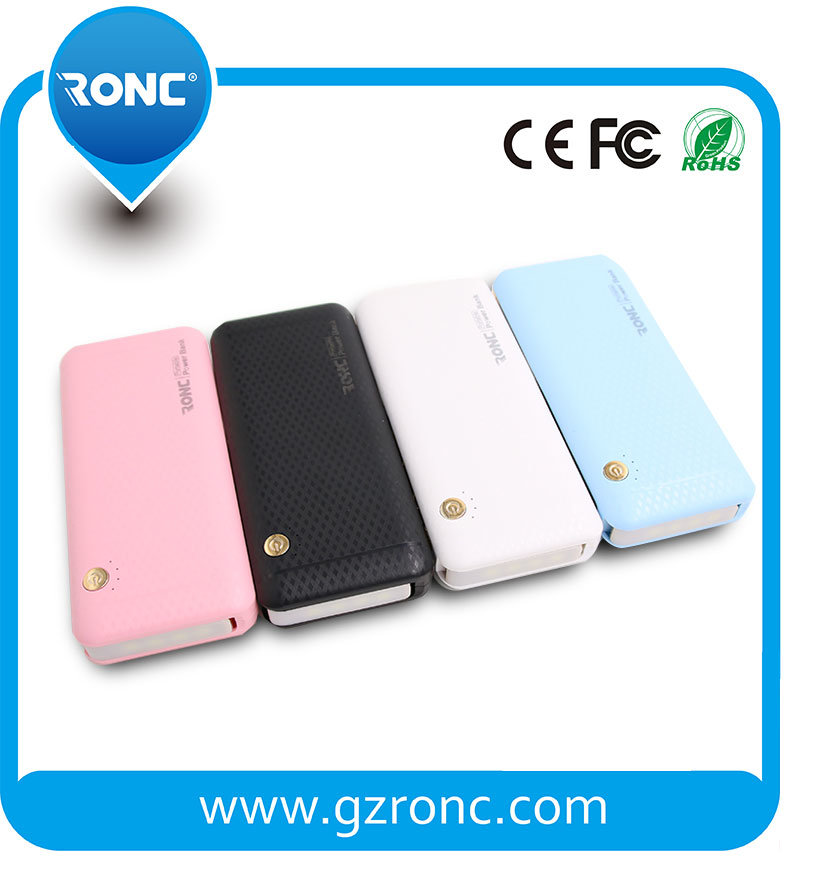 with Stronger LED Light 10000mAh Mobile Portable Power Bank Charger