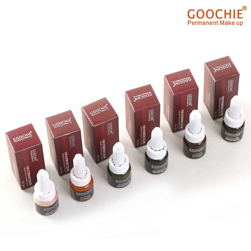 Goochie Tattoo Paste Microblading Pigment for Permanent Make up