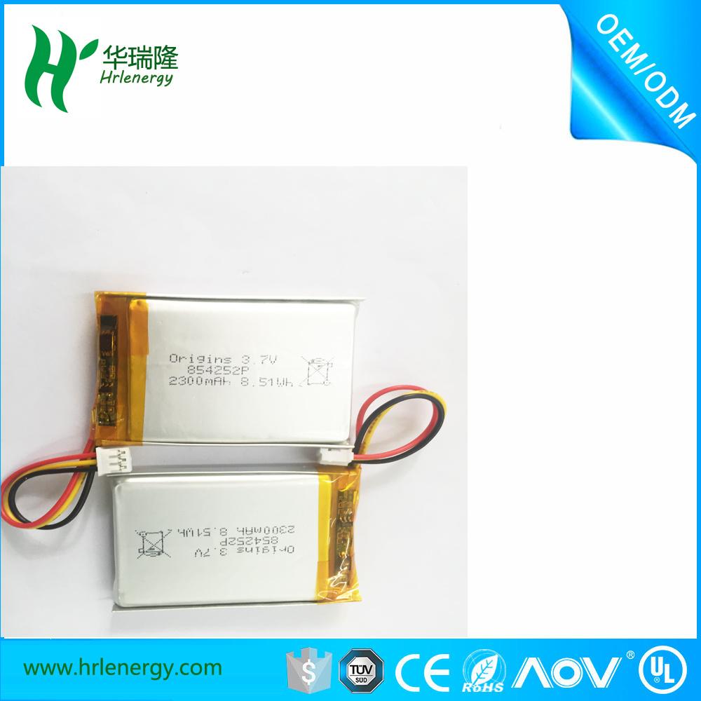 854050 4200mAh Competitive Price Lipo Battery Cell 3.7V Li-ion Battery Pack 11.1V