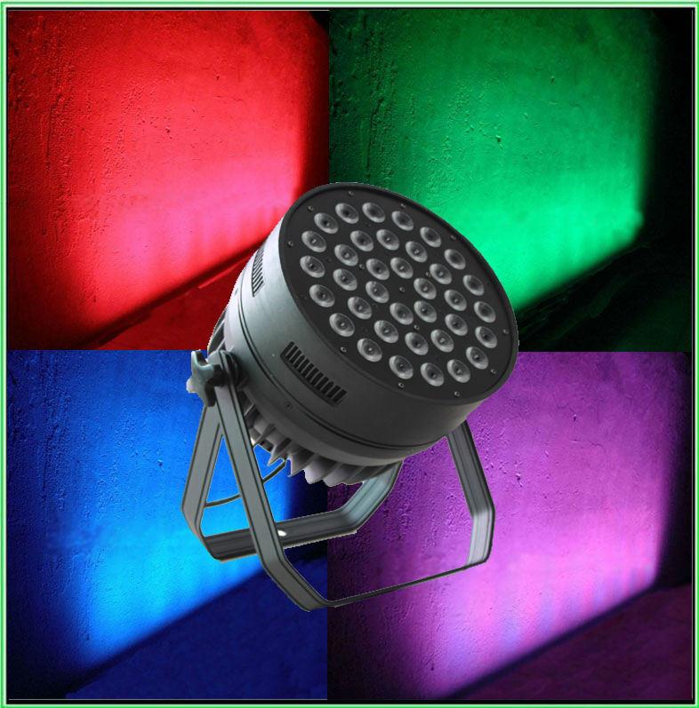 36PCS 10W RGBW 4in1 LED PAR Wash Light Stage Equipment