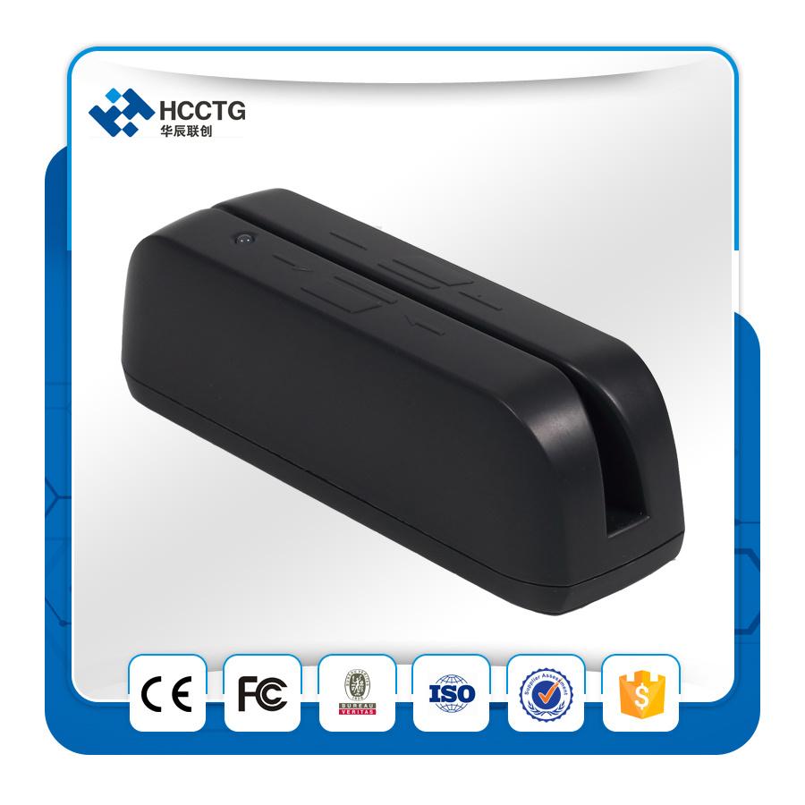Track 1/2/3 USB Mini Portable Magnetic Stripe Swipe Card Reader Hcc780