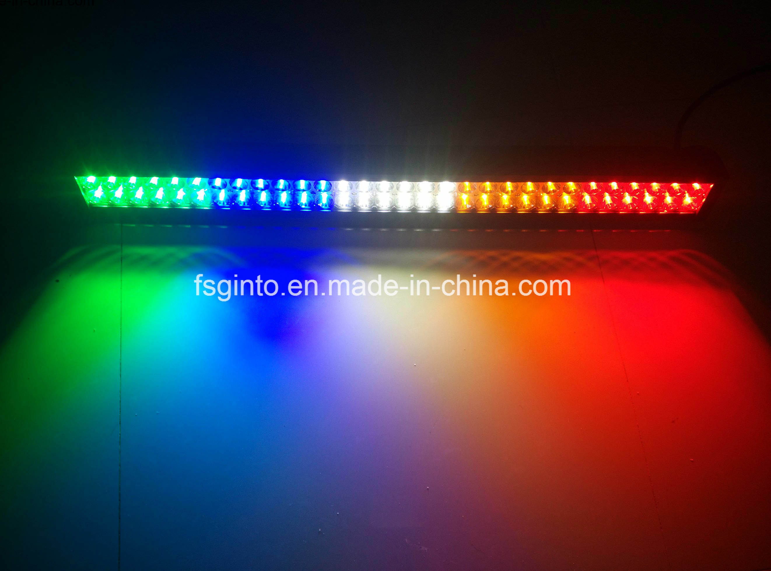 Waterproof Multi-Color Epistar 240W 42inch LED Light Bar (GT31001EP-240W-Multicolor)