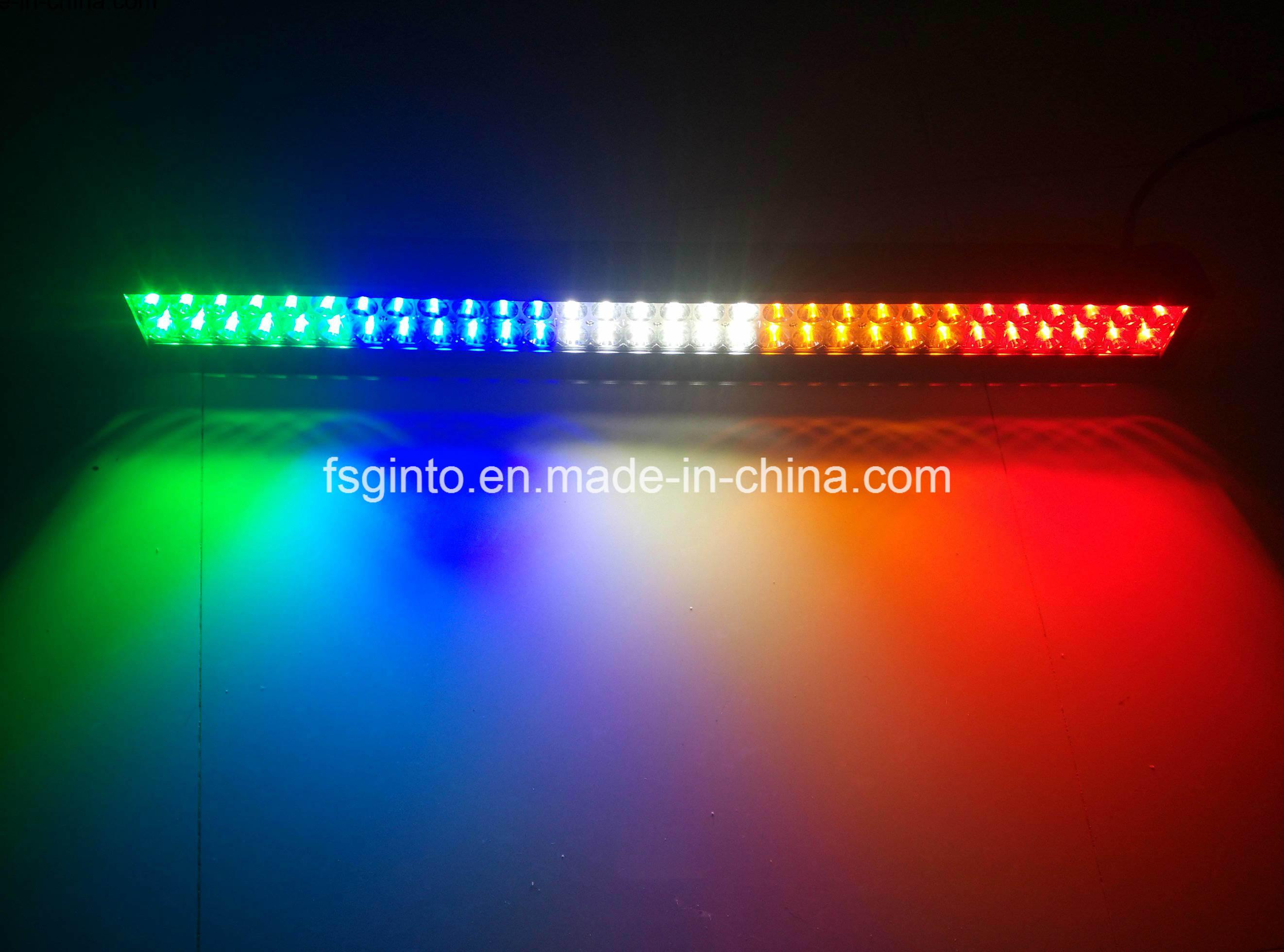 Waterproof Multi-Color Epistar 240W 42inch LED Light Bar
