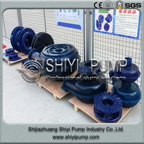 Polyurethane Wear Resistant OEM Pump Parts