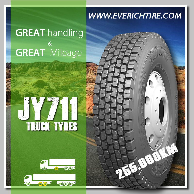 High Quality Truck Tires/TBR with Reach DOT Smartway/ 315 80r22.5 11r22.5