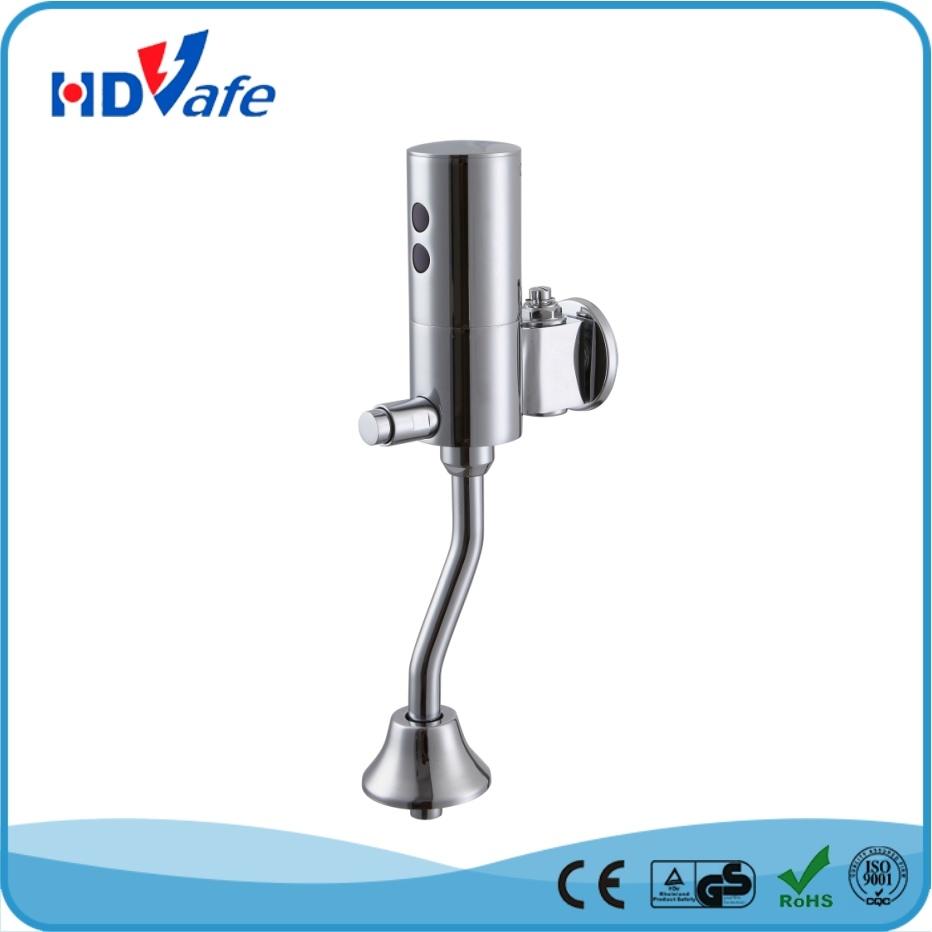 China External Automatic Infrared Urinal Flusher Solid Brass Urinal Sensor with Manual Valve