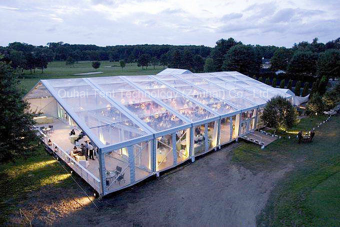 Special Clear PVC Roof Cover and Walls Marquee for Wedding, Party, Event