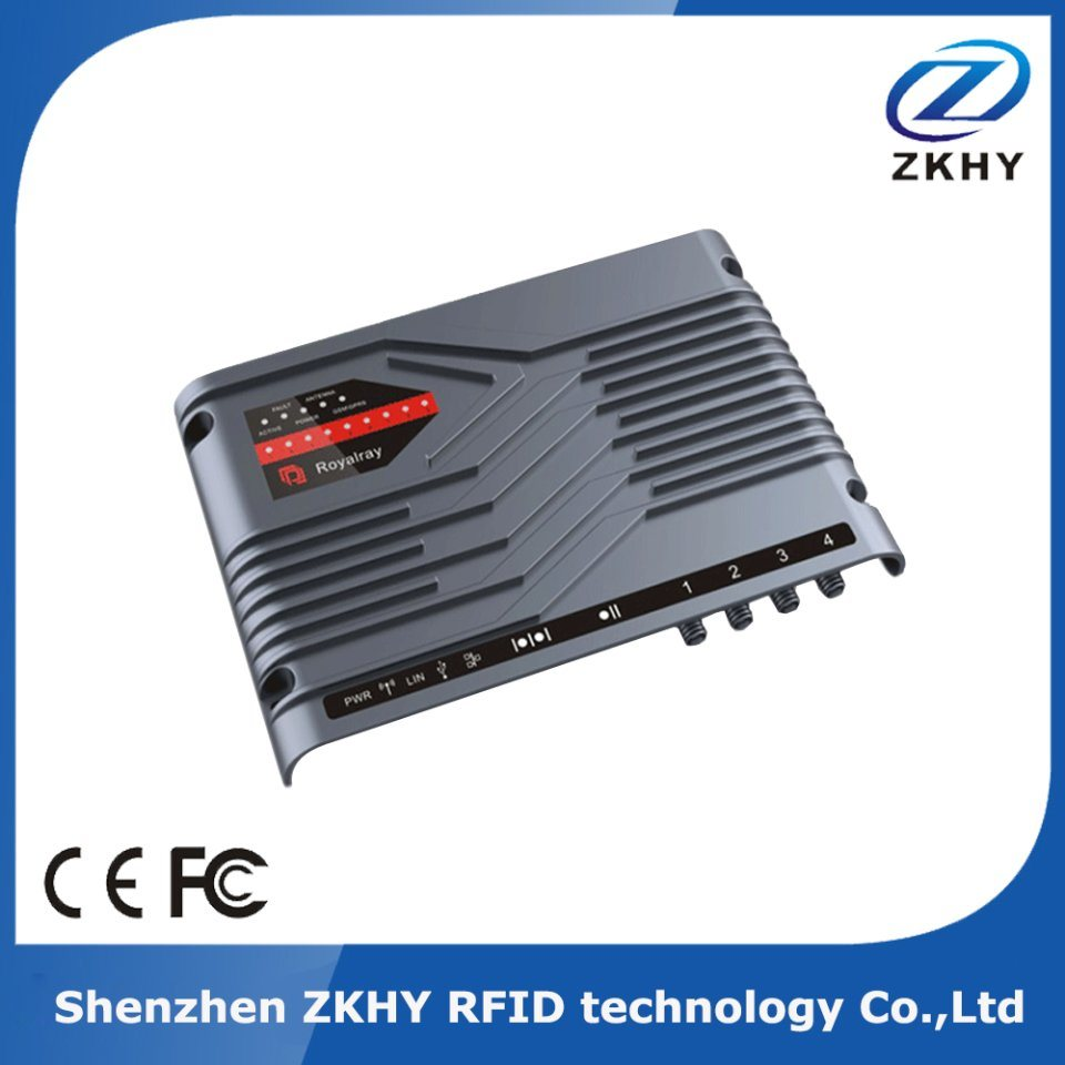 Impinj R2000 Chip 4 Channel UHF RFID Fixed Card Reader for Access Control