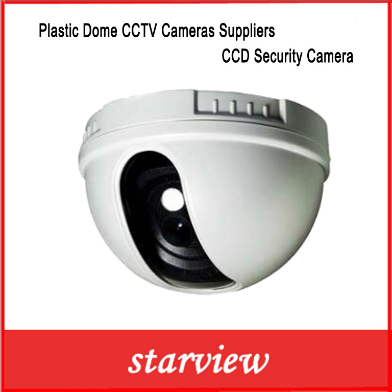 Plastic Dome CCTV Cameras Suppliers CCD Security Camera