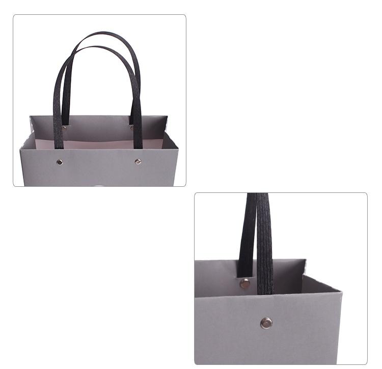 Custom Kraft Paper Printed Shopping Gift Bag