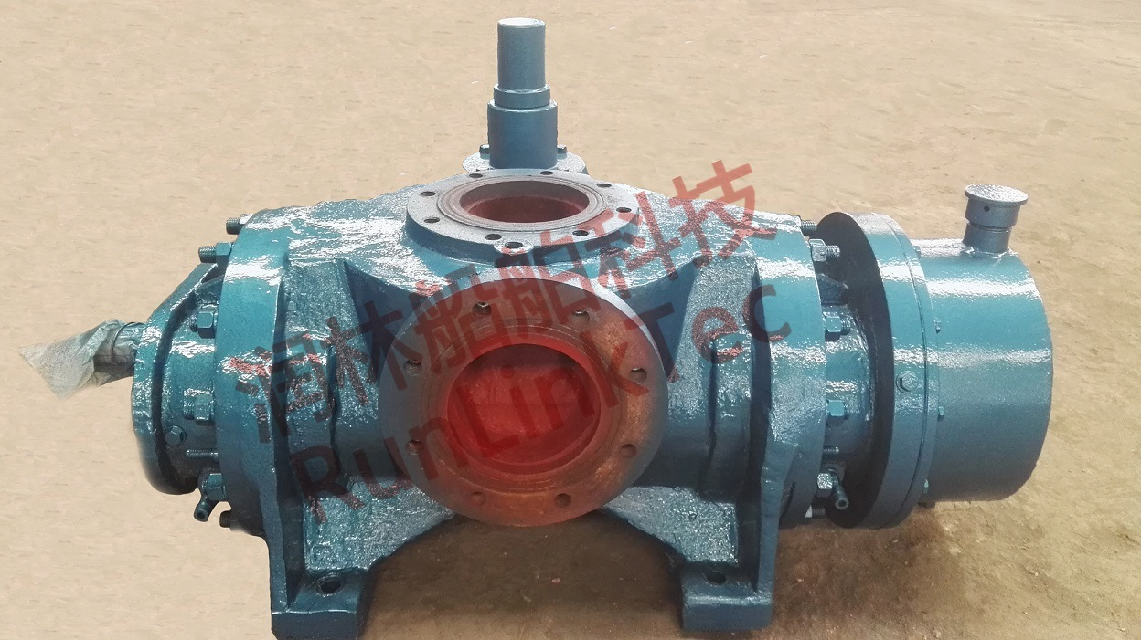 Pump Twin Screw/High Pressure/Deck Marine
