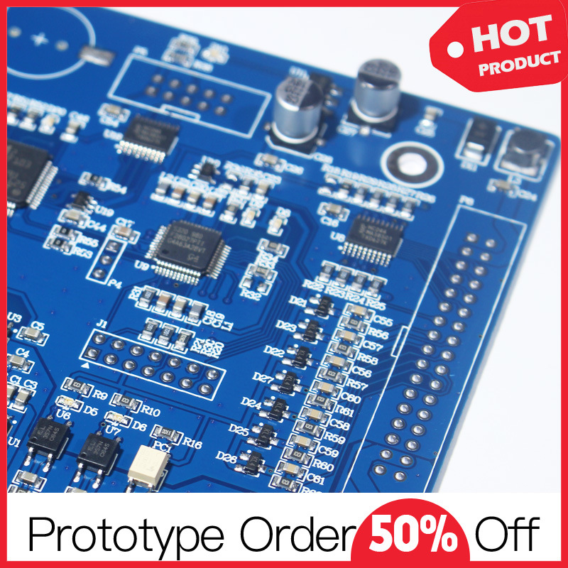 Fr-4 1oz HASL Custom Printed Circuit Board Assembly