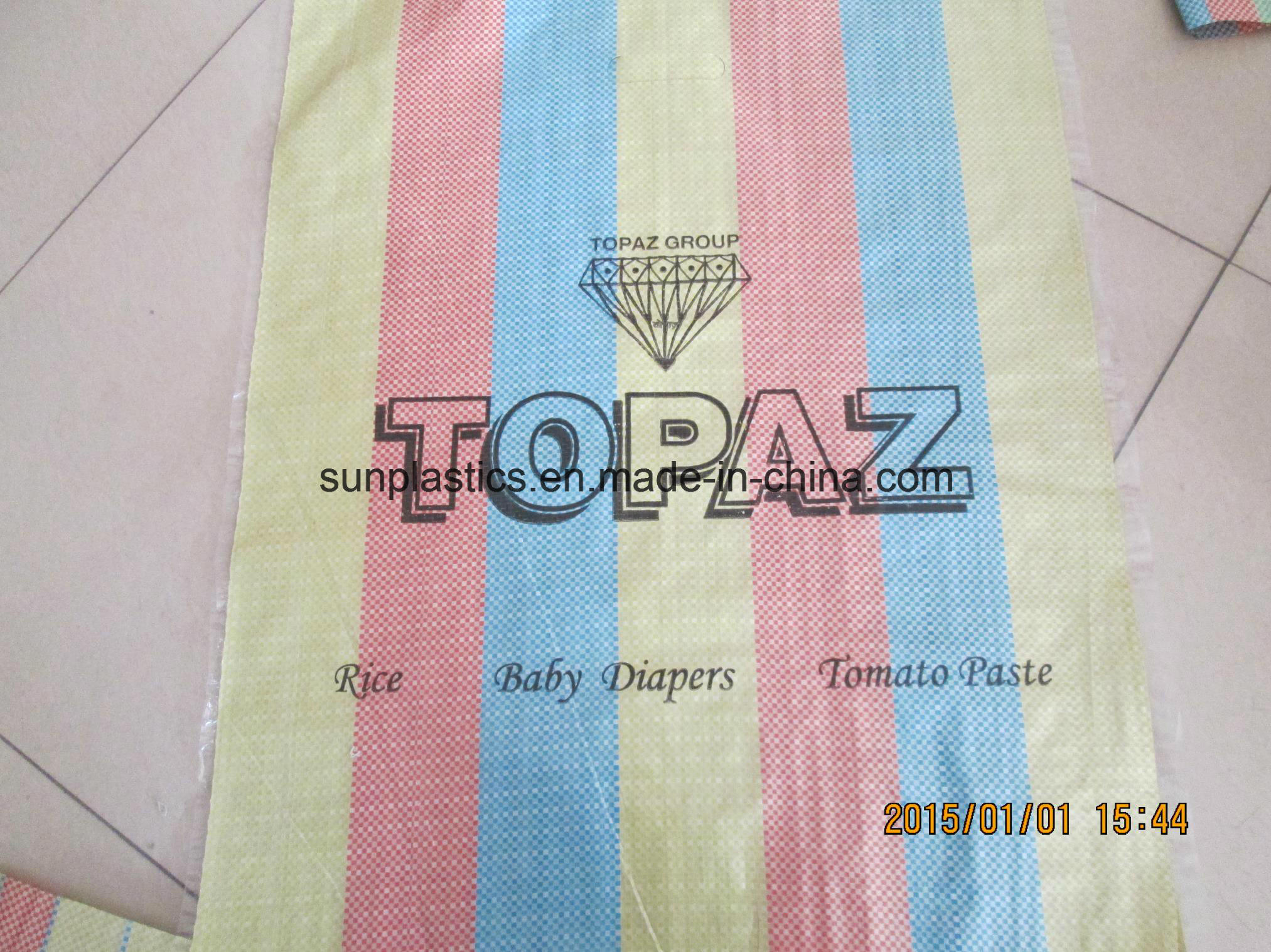 Practical and Durable 25kg PP Woven Bag