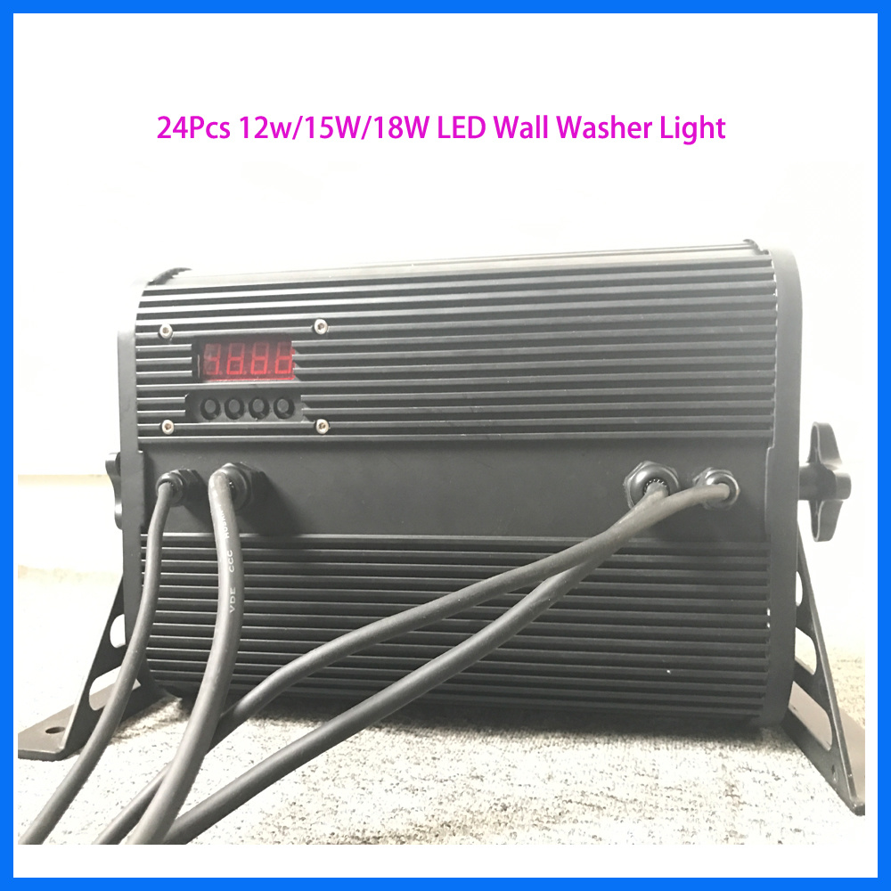 Popular LED Indoor Stage Light 24 PCS *12W Wash Lighting