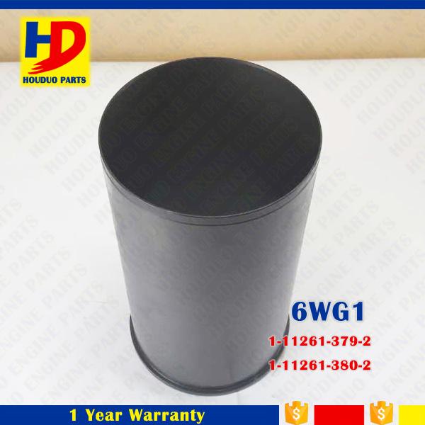 Top Quality 6wg1 Cylinder Liner for Isuzu Excavator Parts (1-11261-379-2 1-11261-380-2)