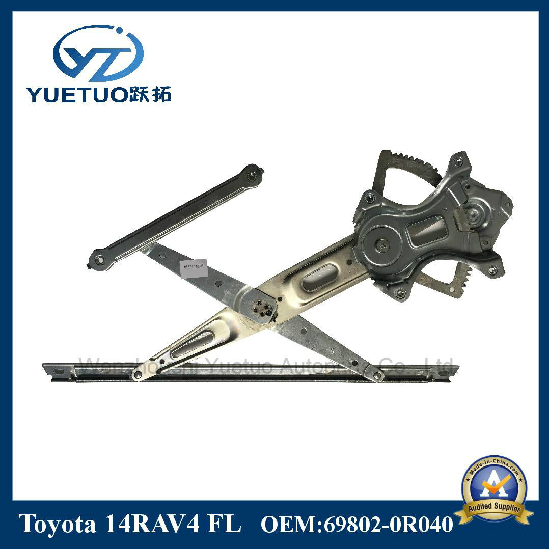 Auto Parts Window Regulator for 14RAV4 Front Left 69802-0r040