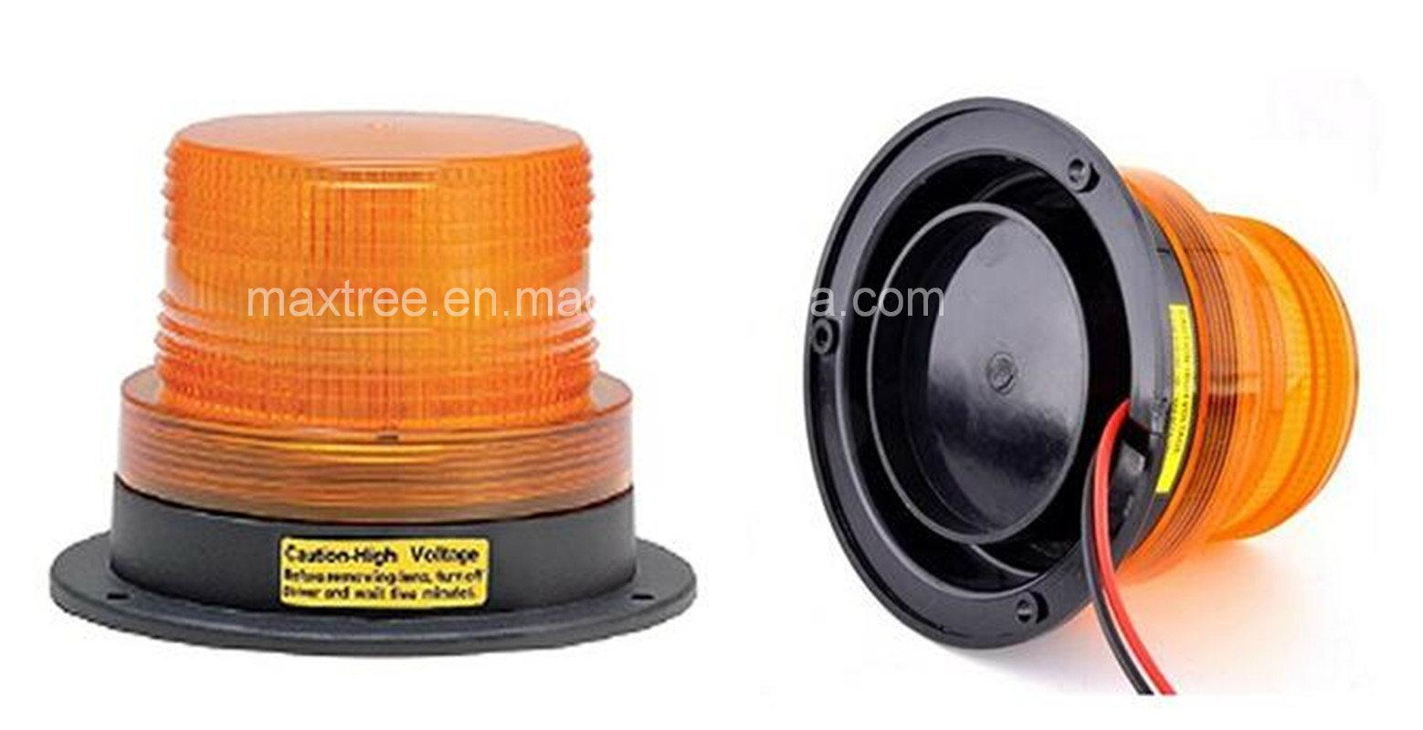 9-80V LED Rotating Strobe Beacon Warning Light