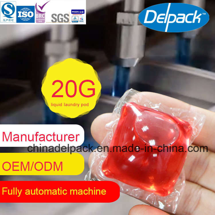 Automatic for Liquid Detergent Pod, OEM&ODM Super Concentration Laundry Liquid Detergent, Water Souble Low and Foam Perfume Scent Liquid Detergent