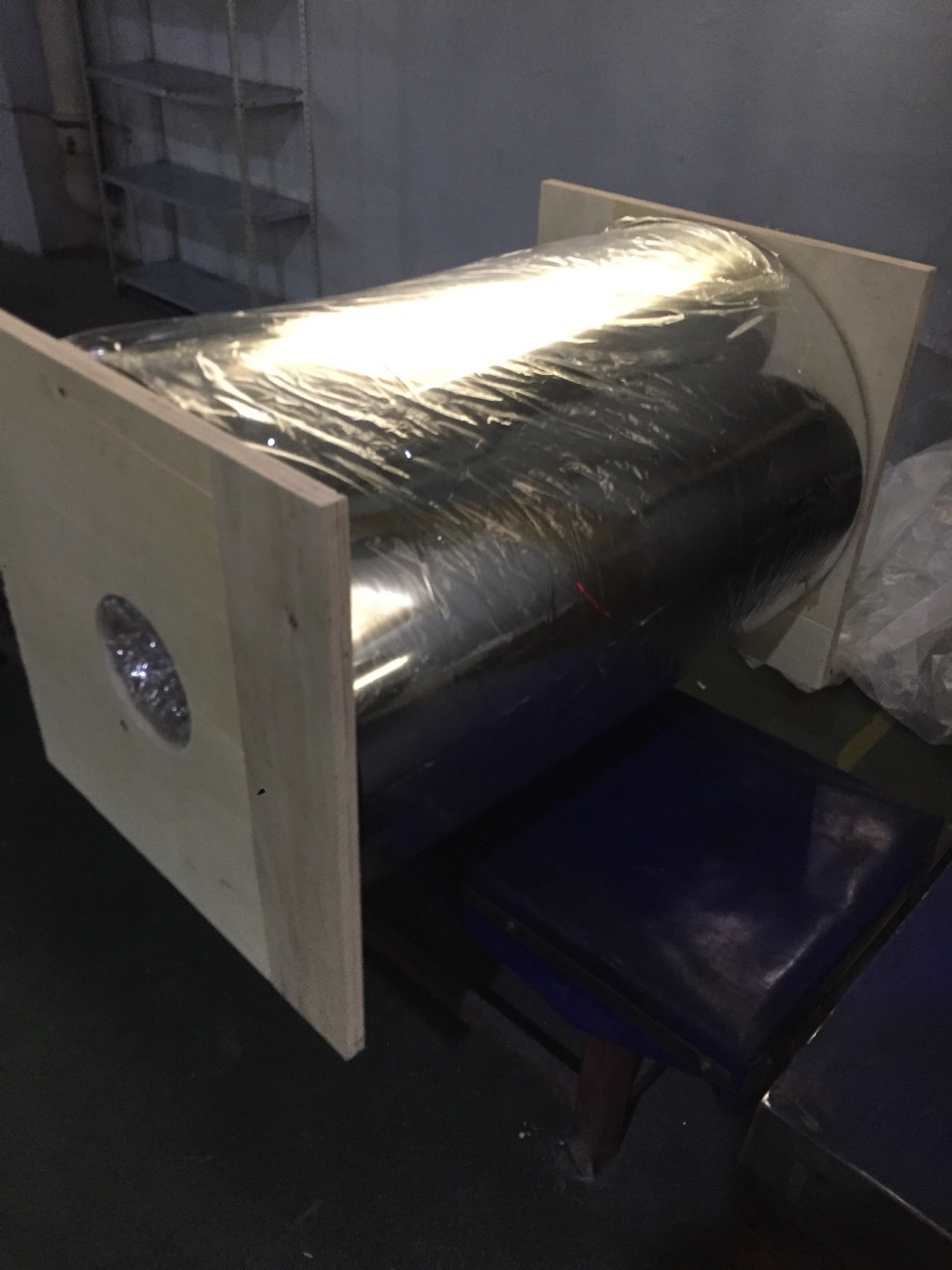 VMPET Film for Laminating with PE Insulation Materials