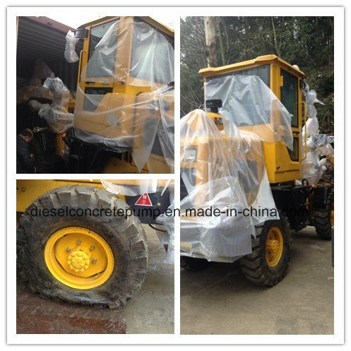 High Quality Versatile Wheel Loader Backhoe 1.8 T Wheel Loader (PL916)