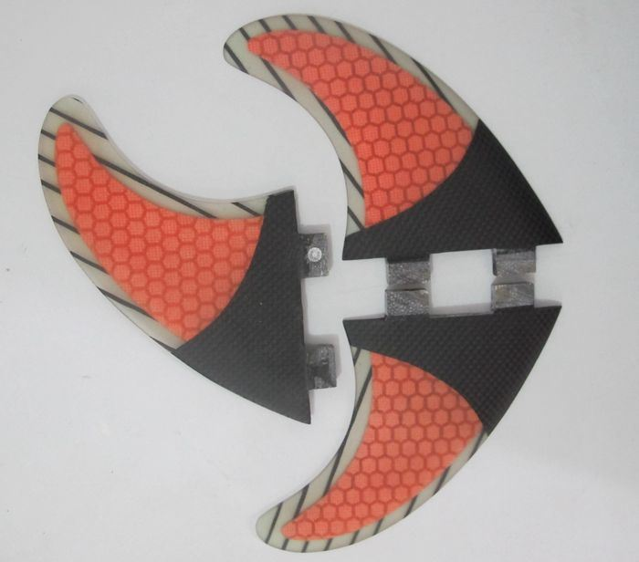 Glassfiber Honeycomb Half Carbon Surf Fin for Surfboard, Sup Board